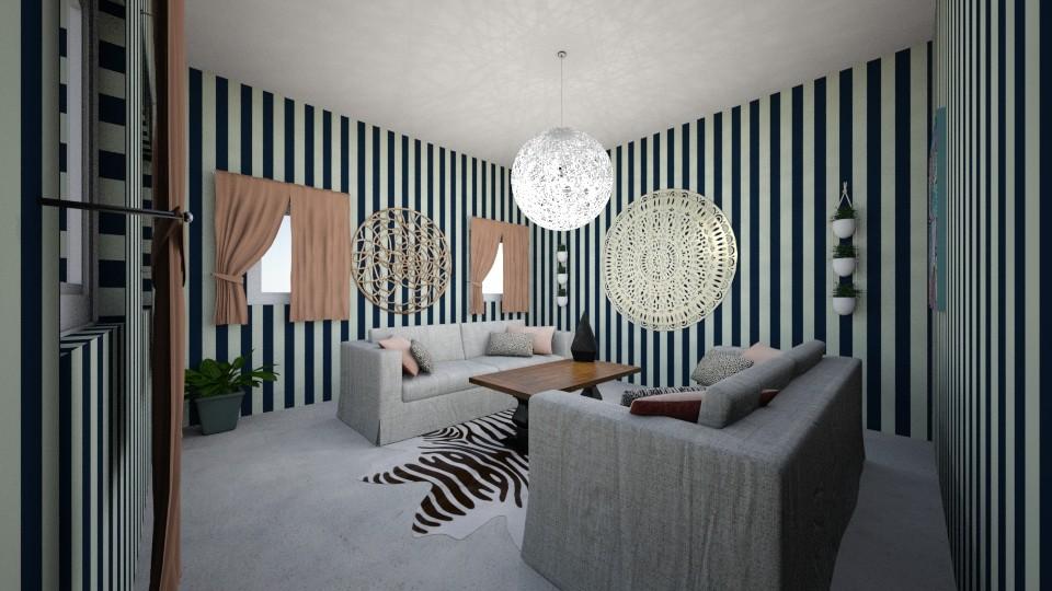 Bohoemian stripe - by SKS419