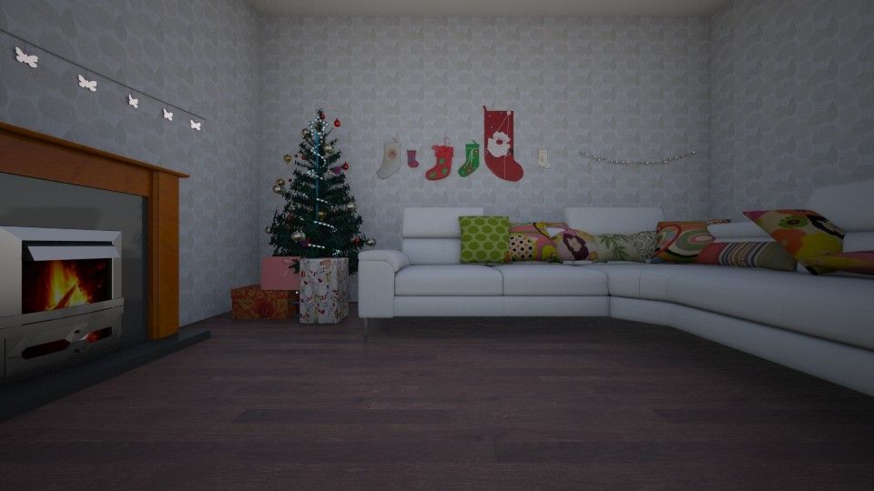 christmas living - Living room - by LuckyVicky