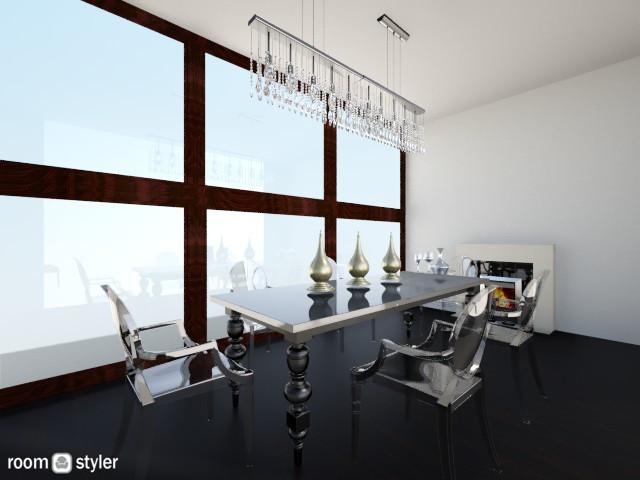 k - Dining room - by kirissa