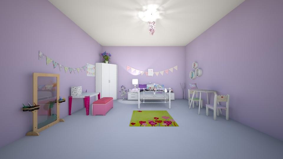 sweet sugar - Kids room - by kotki