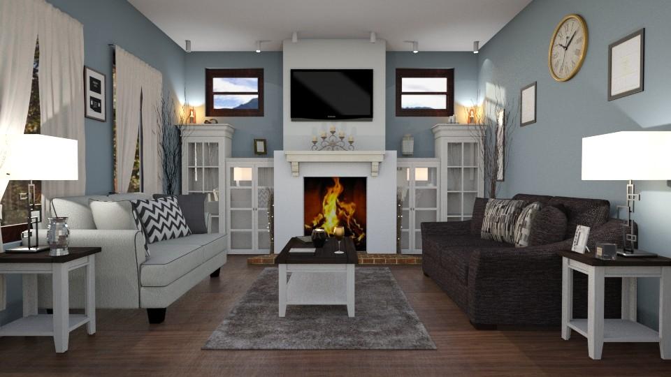 vernon ave - Living room - by jdenae3