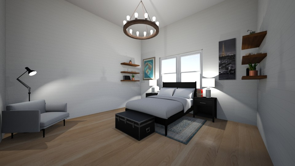 Bedroom_2 - Eclectic - Bedroom - by WPM0825