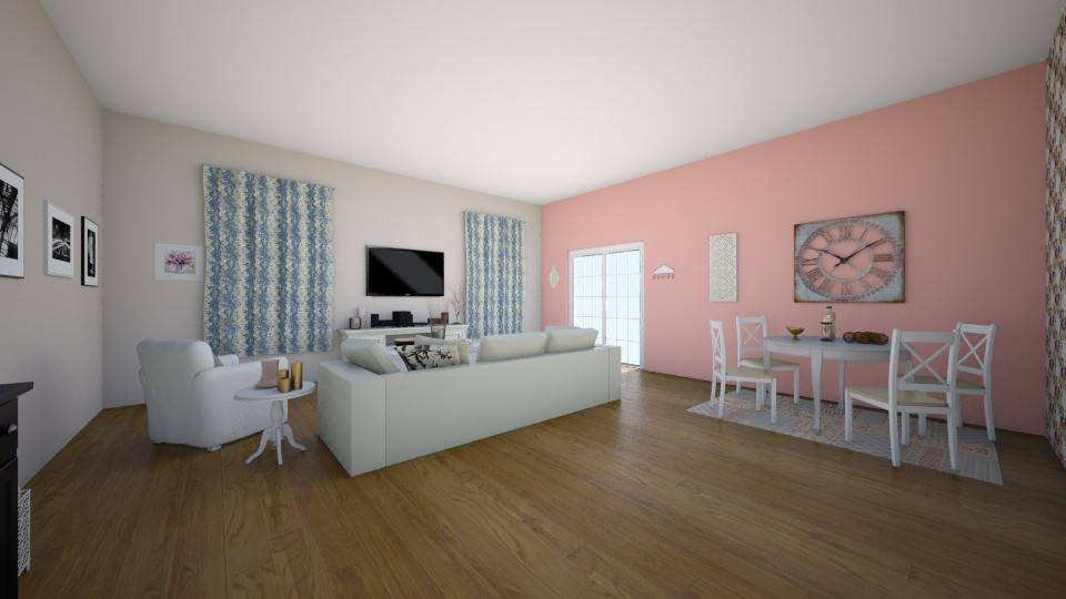 Rose Gold  - Vintage - Living room - by irene30