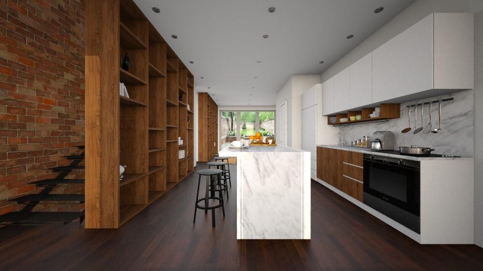 YOO OH Kitchen - by Valentinapenta