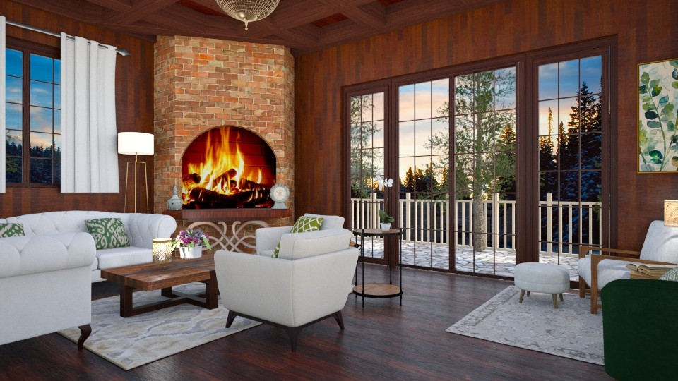 wood living - Country - Living room - by mari mar