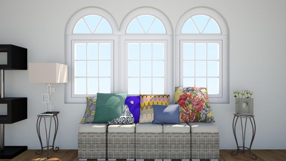 Comfy Room - Living room - by kleaaa