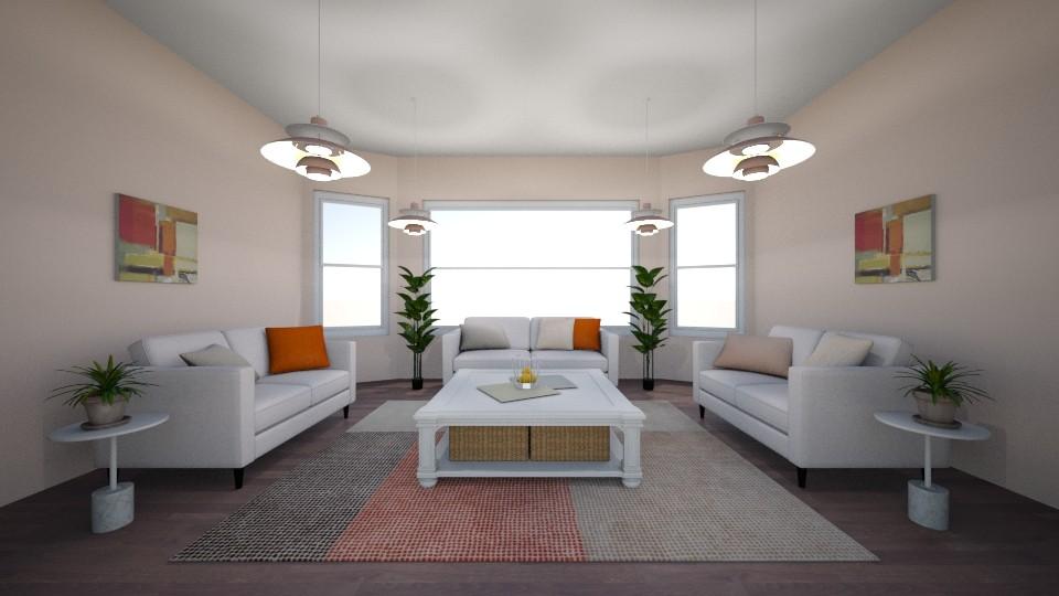 Symetrical Living Room - Modern - Living room - by millerfam