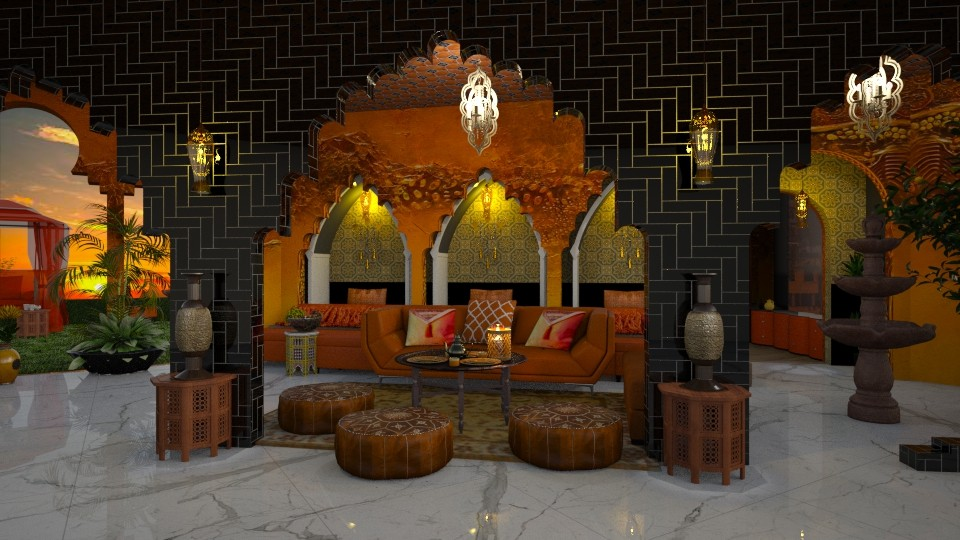In Orange - by marocco