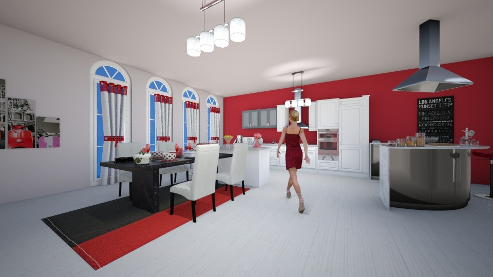 kitchen room - Kitchen - by louahdi abir