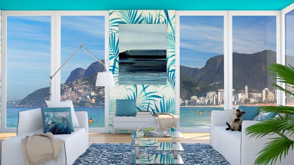Palm Condo - Modern - Living room - by bgref