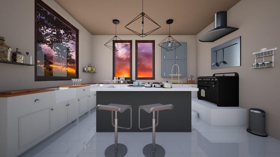 Feeling Good - Kitchen - by Agni Samil
