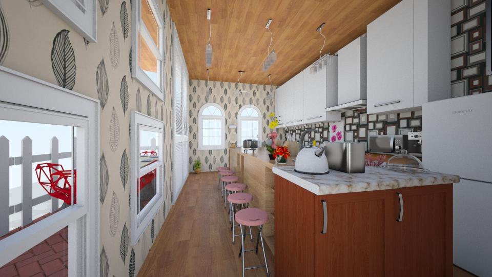 Kitchen 1 - Retro - Kitchen - by ra101