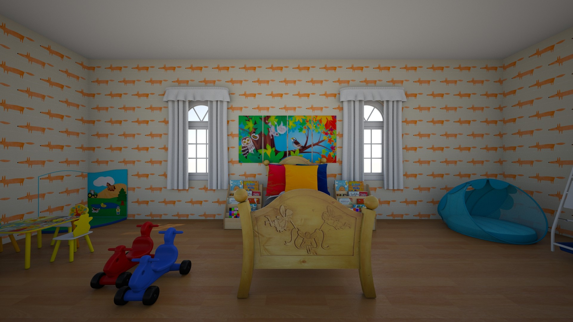 leeeeee - Kids room - by abigail_j_feinberg