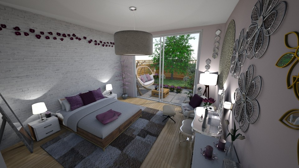 My Dream Bedroom - Bedroom - by Nina Colin