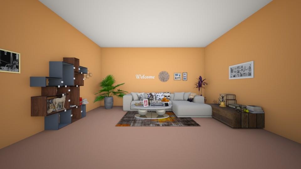 books - Living room - by kotki