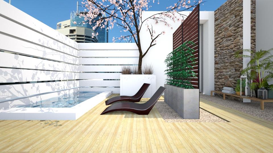 Rooftop Paradise  - Modern - Garden - by facundo