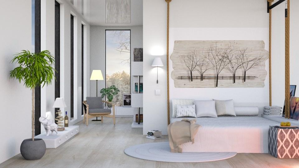 modern white - by barnigondi