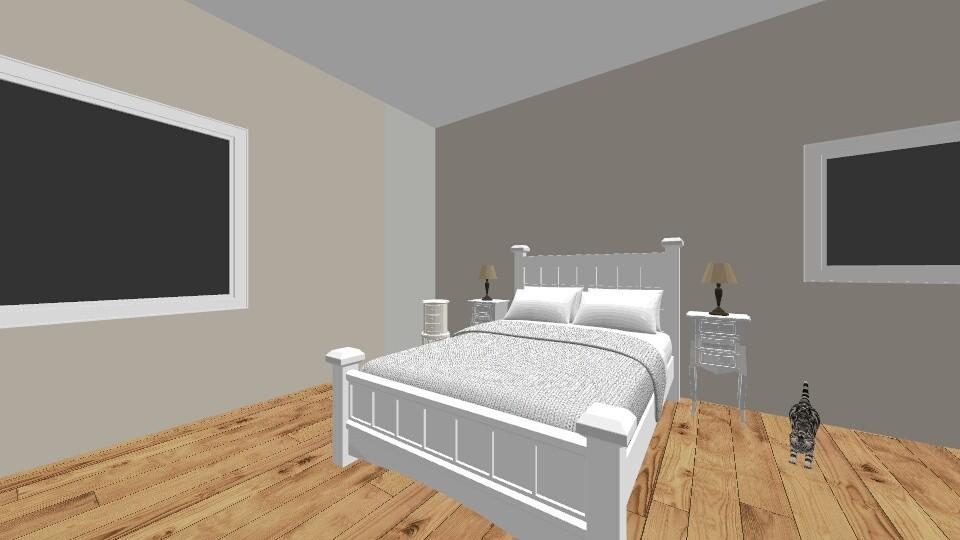 Light Breeze _ Bedroom - Minimal - Bathroom - by RoomstylerJD