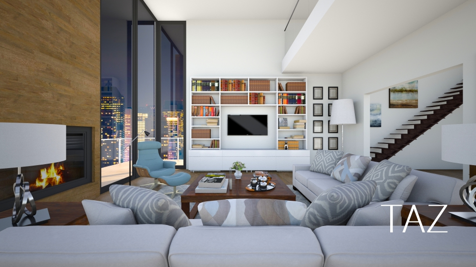 Home - Living room - by _Taz_