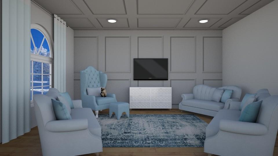 lounge round - by Paris Lidgard