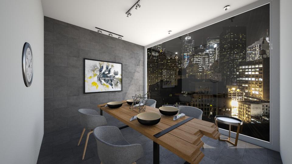 dinning room  - Classic - by amalachrafii