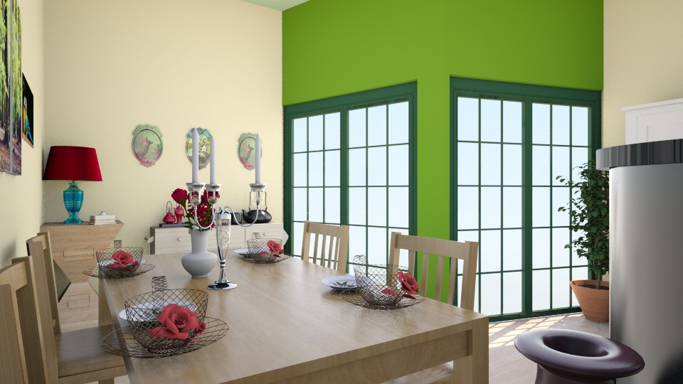 Cay Zaman  - Modern - Dining room - by zenaalomran