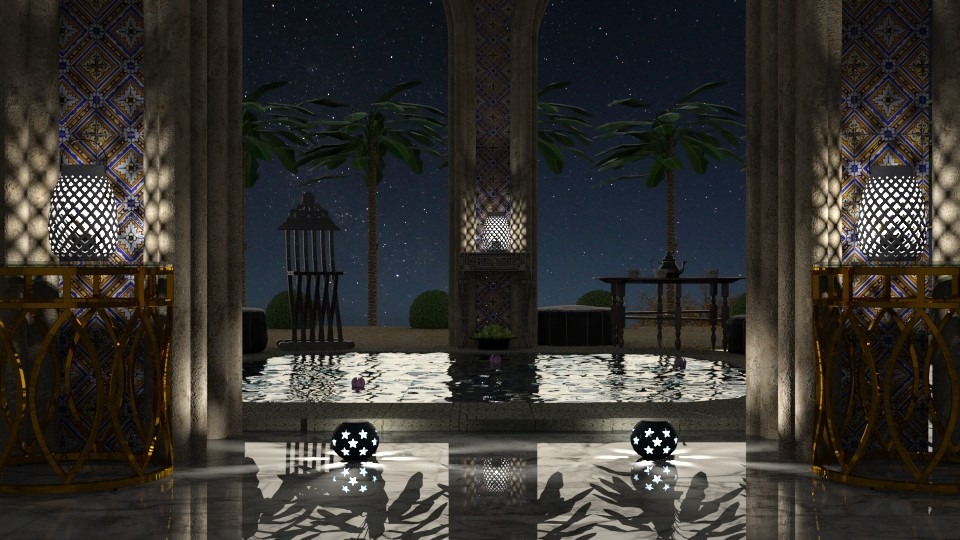 Night bathing - by marocco