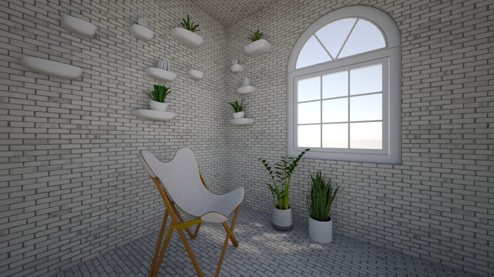 Industrialist Sitting Roo - Office - by zwsclb