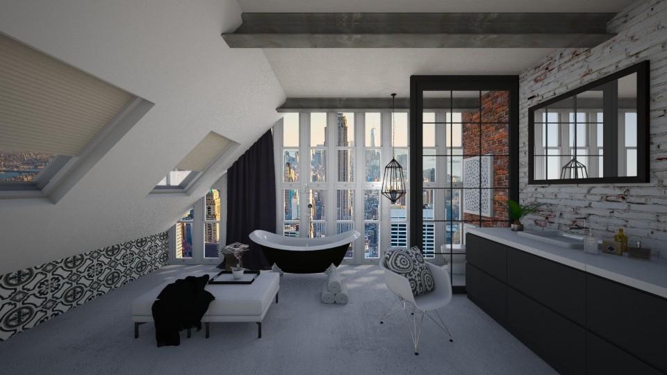 Industrial Bath - Bathroom - by bgref