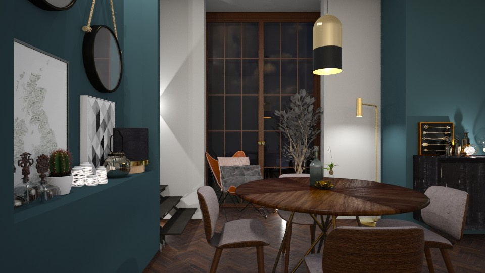 Blauw - Dining room - by StienAerts