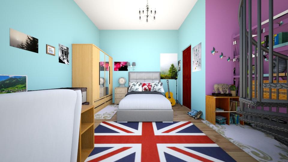 my room - Bedroom - by AdriennSamu