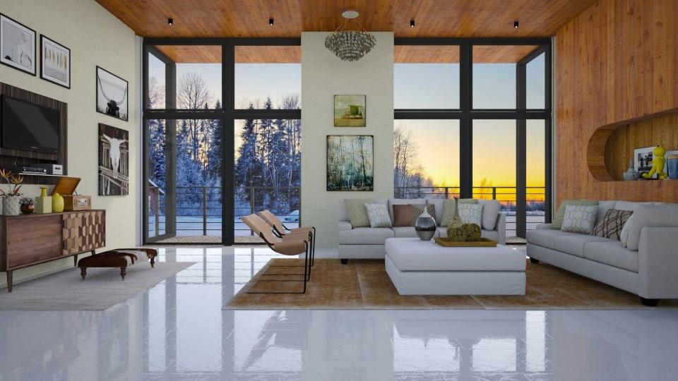 Modern Cabin - by jade61356