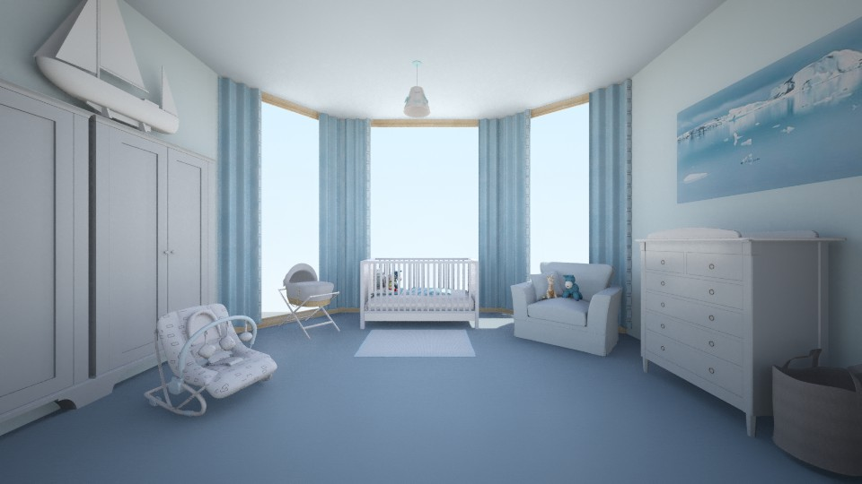 Baby Boy - Kids room - by creato