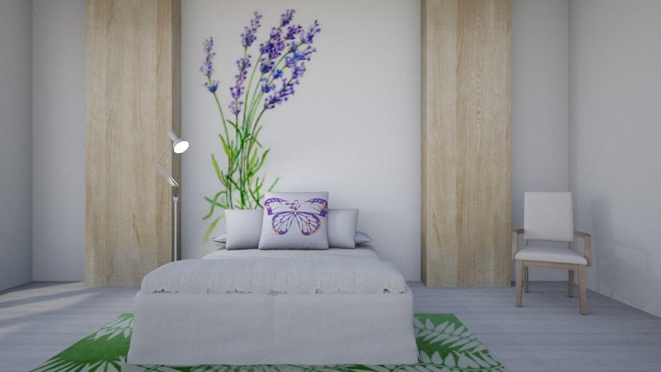 Lilac - Modern - Bedroom - by millerfam