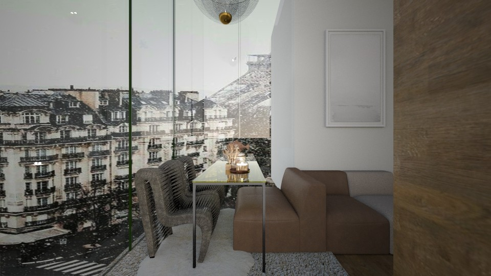 Casa375LivingandDining - Modern - Dining room - by nickynunes
