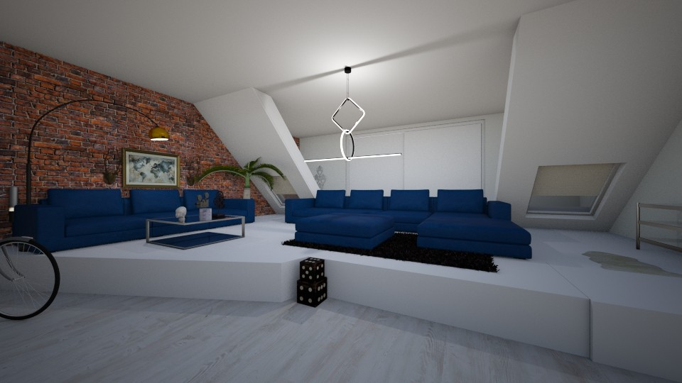 city view - Living room - by landen russo