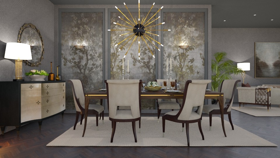 Caracole_Dining room - Modern - Dining room - by Valkhan