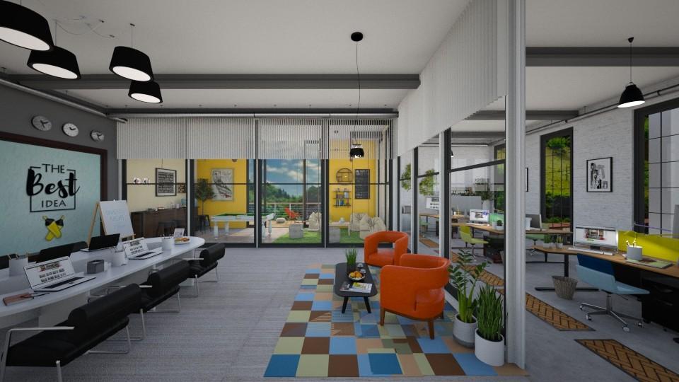 office - by Yana Baliashvili