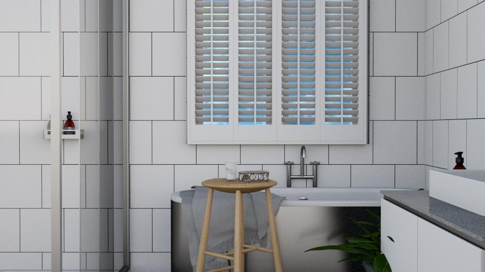 Simple Bathroom - by cvlors