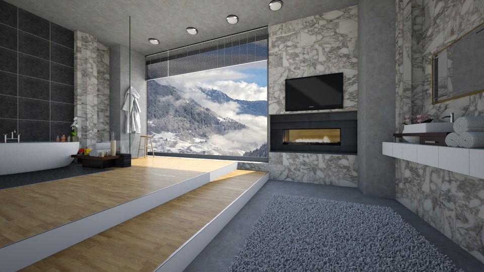 Luxury Bathroom_Winter - by ayu DR