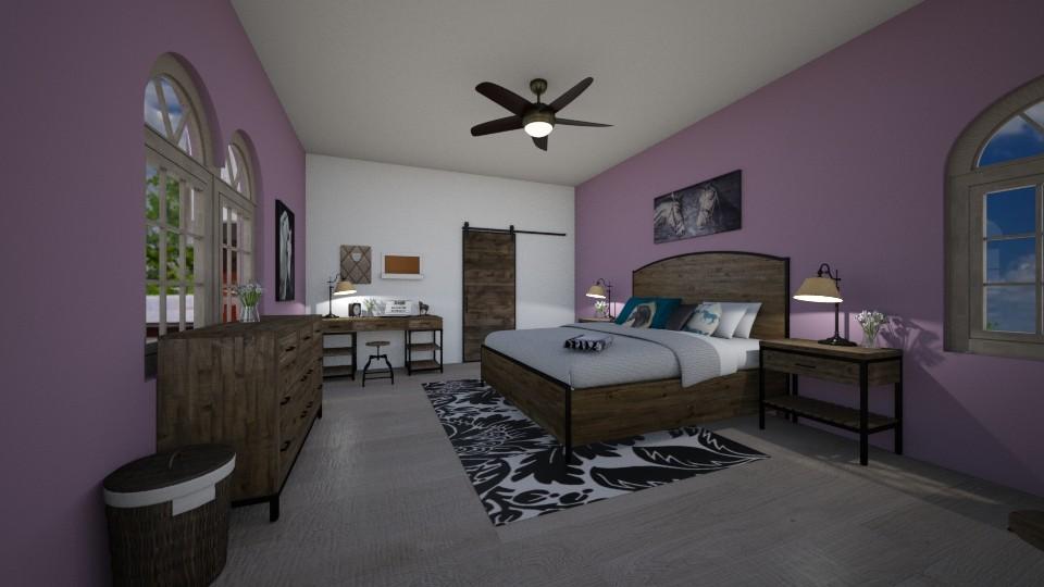 equine moodboard bedroom - by chloe_mccarty