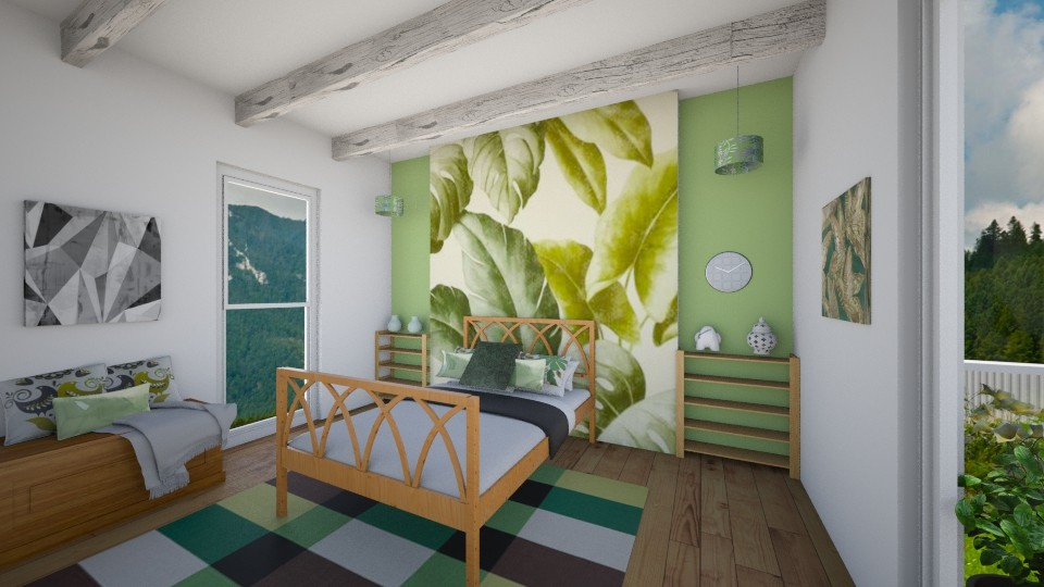 Leaf - Bedroom - by Gosia1610