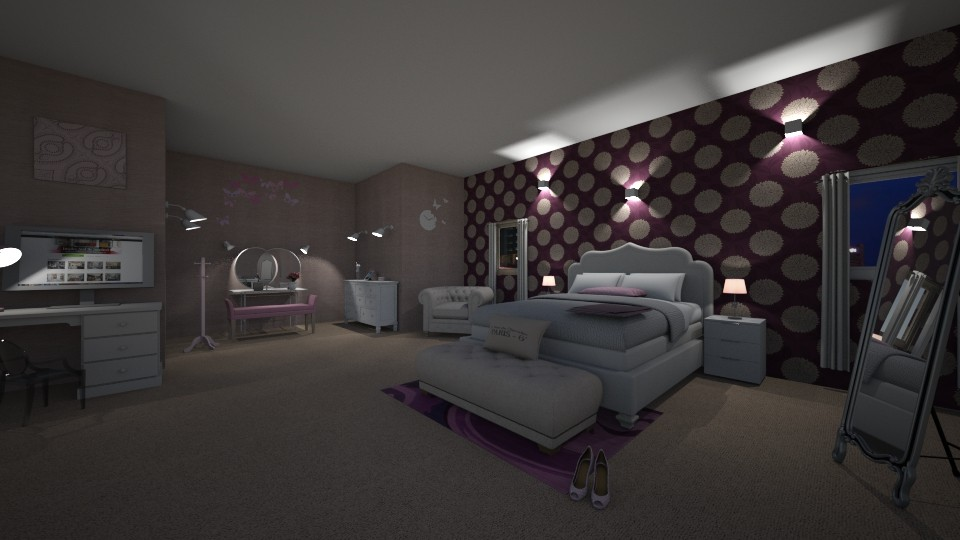 Bedroom - Feminine - Bedroom - by mariateresadrago