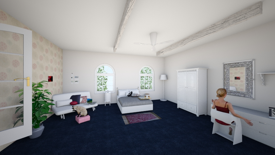 girl's room - Eclectic - Bedroom - by dalia sn