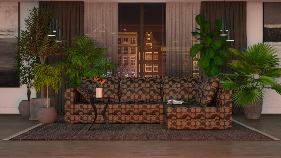 Urban Jungle - Eclectic - Living room - by Theadora