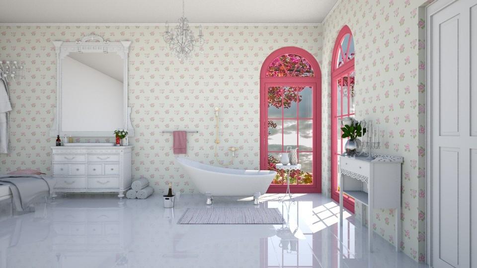 Rosie corner - Bathroom - by agapka