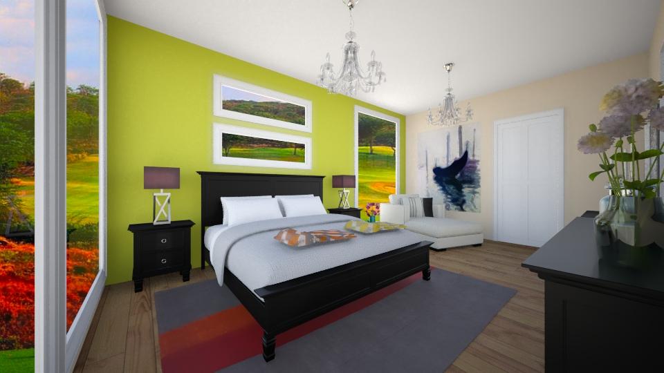 287 - Bedroom - by Zeynep Agcabal
