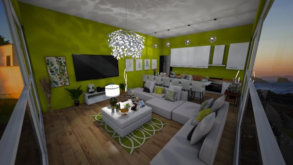 M C - Living room - by kellynazha
