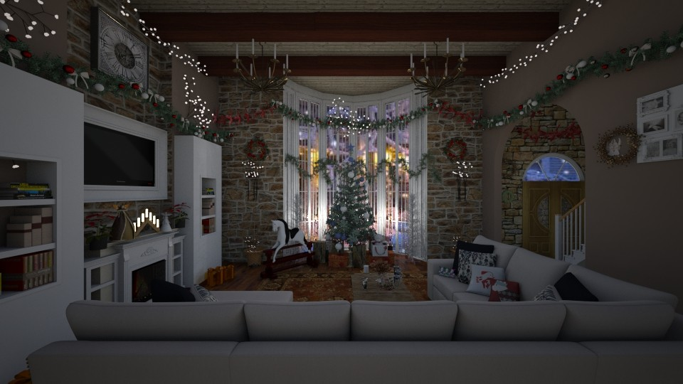 Christmas warmth - by kla