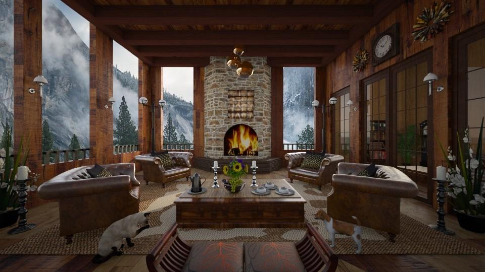 Rocky Mt Cabin II - by lydiaenderlebell